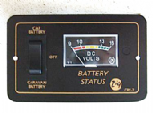 Zig CPX-7 Dual Battery Meter